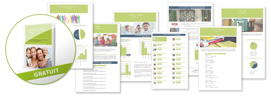 Télécharger gratuitement le guide PDF Vivre à Gourdon