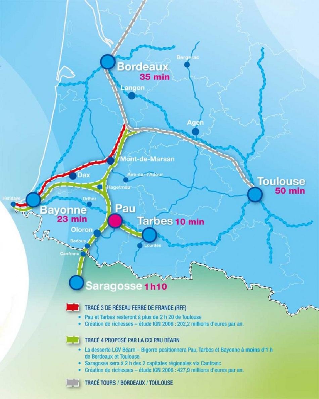 Le TGV agrandit son réseau dans le sud : Paris-Toulouse, Bordeaux-Toulouse...