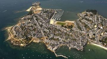 100710-Lorient vu du ciel,Locmiquélic et la rade