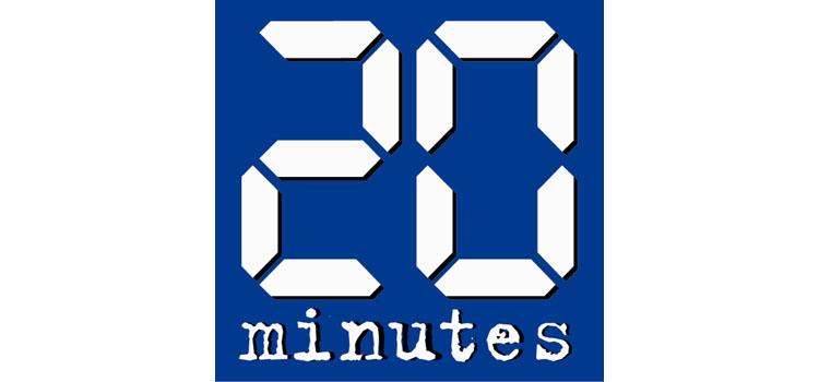 20 Minutes partenaire de Parcours France