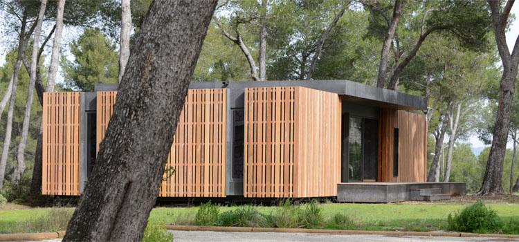 la pop up house une maison cologique et recyclable fabriqu e en 2 semaines paca parcours. Black Bedroom Furniture Sets. Home Design Ideas