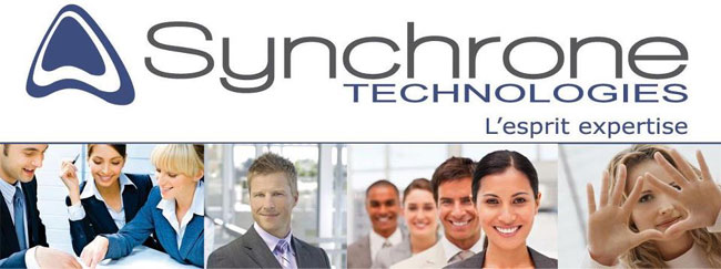 synchrone technologies recrute en r gions parcours france 2018 palais brongniart 4 5 oct. Black Bedroom Furniture Sets. Home Design Ideas